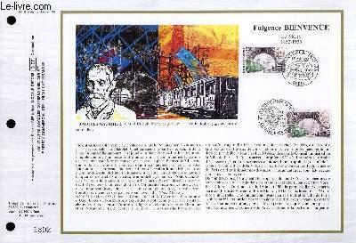 FEUILLET ARTISTIQUE PHILATELIQUE - CEF - N° 845 - FULGENCE BIENVENUE - LE METRO 1852-1936