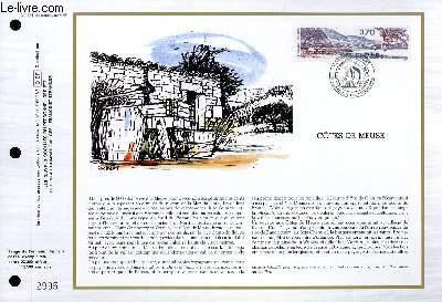 FEUILLET ARTISTIQUE PHILATELIQUE - CEF - N° 864 - COTES DE MEUSE