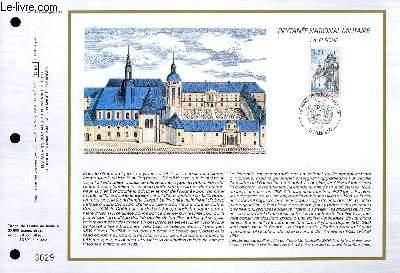 FEUILLET ARTISTIQUE PHILATELIQUE - CEF - N° 870 - PYTANEE NATIONAL MILITAIRE - LA FLECHE