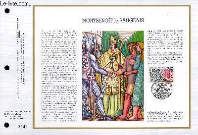 FEUILLET ARTISTIQUE PHILATELIQUE - CEF - N� 881 - MONTBENOIT LE SAUGEAIS