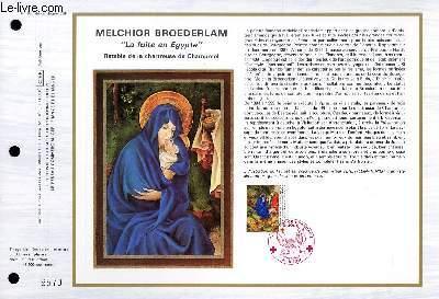 FEUILLET ARTISTIQUE PHILATELIQUE - CEF - N° 886 - MELCHIOR BROEDERLAM