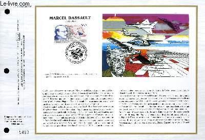 FEUILLET ARTISTIQUE PHILATELIQUE - CEF - N° 891 - MARCEL DASSAULT 1892-1986