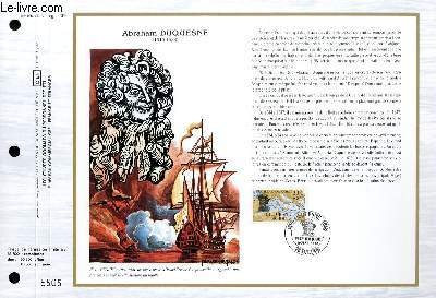 FEUILLET ARTISTIQUE PHILATELIQUE - CEF - N° 894 - ABRAHAM DUQUESNE 1610-1688