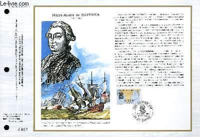 FEUILLET ARTISTIQUE PHILATELIQUE - CEF - N° 896 - PIERRE-ANDRE DE SUFFREN