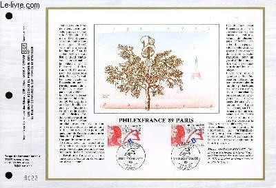 FEUILLET ARTISTIQUE PHILATELIQUE - CEF - N° 900 - PHILEXFRANCE 89 PARIS