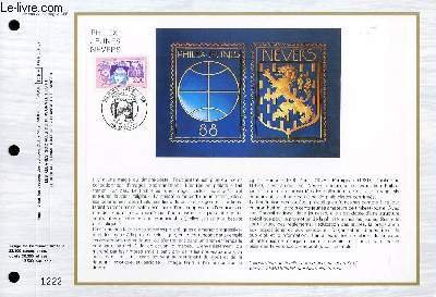 FEUILLET ARTISTIQUE PHILATELIQUE - CEF - N° 904 - PHILEX JEUNE NEVERS