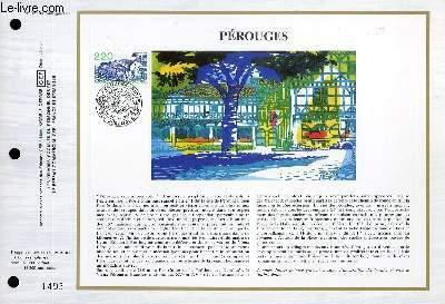 FEUILLET ARTISTIQUE PHILATELIQUE - CEF - N° 923 - PEROUGES