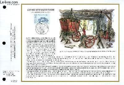 FEUILLET ARTISTIQUE PHILATELIQUE - CEF - N° 947 - JOURNEE NATIONALE DU TIMBRE - LA DILIGENCE PARIS-LYON
