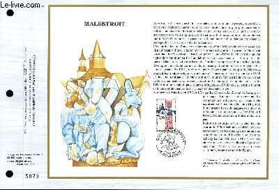 FEUILLET ARTISTIQUE PHILATELIQUE - CEF - N° 955 - MALESTROIT