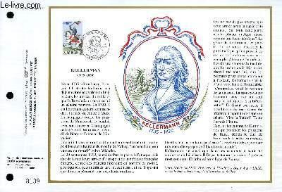 FEUILLET ARTISTIQUE PHILATELIQUE - CEF - N° 960 - KELLERMAN 1735-1820