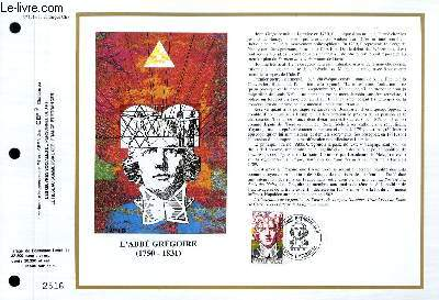 FEUILLET ARTISTIQUE PHILATELIQUE - CEF - N° 1014 - GASPARD MONGE 1746-1818