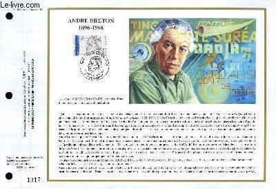 FEUILLET ARTISTIQUE PHILATELIQUE - CEF - N° 1026 - PAUL ELUARD 1895-1952