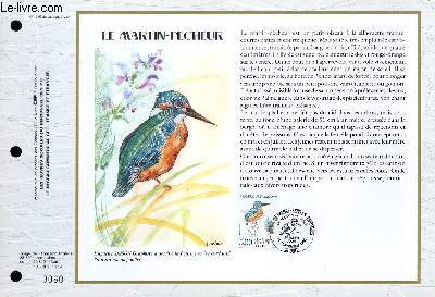 FEUILLET ARTISTIQUE PHILATELIQUE - CEF - N° 1059 - LE MARIN-PECHEUR