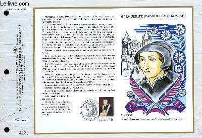 FEUILLET ARTISTIQUE PHILATELIQUE - CEF - N° 1077 - MARGUERITE D'ANGOULEME 1492-1549