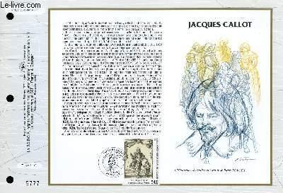FEUILLET ARTISTIQUE PHILATELIQUE - CEF - N° 1091 - JACQUES CAILLOT