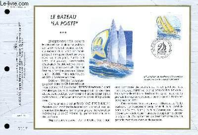 FEUILLET ARTISTIQUE PHILATELIQUE - CEF - N° 1112 - LE BATEAU