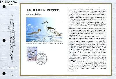 FEUILLET ARTISTIQUE PHILATELIQUE - CEF - N° 1113 - LE HARLE PIETTE - MERGUS ALBELLUS