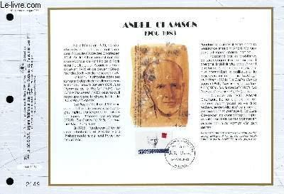 FEUILLET ARTISTIQUE PHILATELIQUE - CEF - N� 1125 - ANDRE CHAMSON 1900-1983