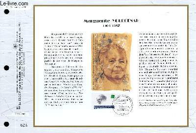 FEUILLET ARTISTIQUE PHILATELIQUE - CEF - N° 1126 - MARGUERITE YOURCENAR 1903-1987