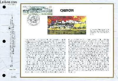 FEUILLET ARTISTIQUE PHILATELIQUE - CEF - N° 1127 - CHINON