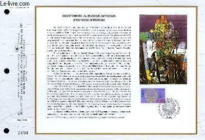 FEUILLET ARTISTIQUE PHILATELIQUE - CEF - N° 1132 - BICENTENAIRE DU MUSEUM NATIONAL D'HISTOIRE NATURELLES