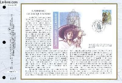 FEUILLET ARTISTIQUE PHILATELIQUE - CEF - N° 1146 - LAMBESC LE JACQUEMARD