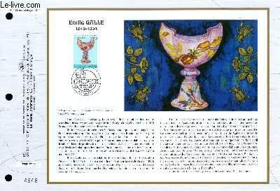 FEUILLET ARTISTIQUE PHILATELIQUE - CEF - N° 1155 - EMILE GALLE 1846-1904