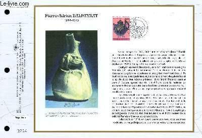 FEUILLET ARTISTIQUE PHILATELIQUE - CEF - N° 1158 - PIERRE-ADRIEN DALPAYRAT 1844-1910