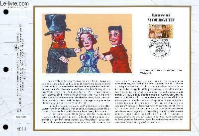 FEUILLET ARTISTIQUE PHILATELIQUE - CEF - N° 1163 - LAURENT MOURGUET