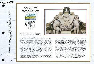 FEUILLET ARTISTIQUE PHILATELIQUE - CEF - N° 1174 - COURS DE CASSATION
