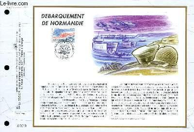 FEUILLET ARTISTIQUE PHILATELIQUE - CEF - N° 1175 - DEBARQUEMENT DE NORMANDIE