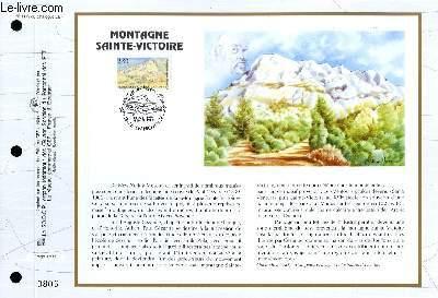 FEUILLET ARTISTIQUE PHILATELIQUE - CEF - N� 1179 - MONTAGNE SAINTE-VICTOIRE