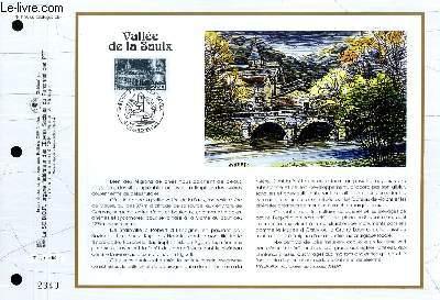 FEUILLET ARTISTIQUE PHILATELIQUE - CEF - N° 1180 - VALLEE DE LA SAULX