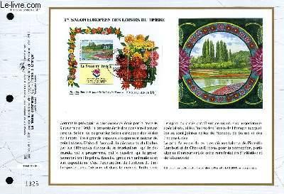 FEUILLET ARTISTIQUE PHILATELIQUE - CEF - N° 1195 - 1° SALON EUROPEEN DES LOISIRS DU TIMBRE