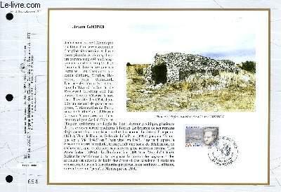 FEUILLET ARTISTIQUE PHILATELIQUE - CEF - N° 1213 - JEAN GIONO