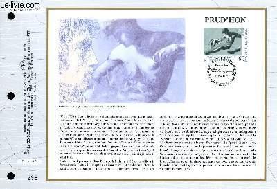 FEUILLET ARTISTIQUE PHILATELIQUE - CEF - N° 1224 - PRUD'HON