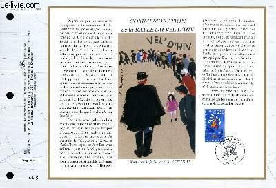 FEUILLET ARTISTIQUE PHILATELIQUE - CEF - N° 1234 - COMMEMORATION DE LA RAFLE DU VEL D'HIV