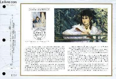FEUILLET ARTISTIQUE PHILATELIQUE - CEF - N° 1240 - BERTHE MORISOT