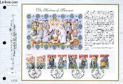 FEUILLET ARTISTIQUE PHILATELIQUE - CEF - N° 1245 - LES SANTONS DE PROVENCE