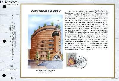 FEUILLET ARTISTIQUE PHILATELIQUE - CEF - N° 1248 - CATHEDRALE D'EVRY