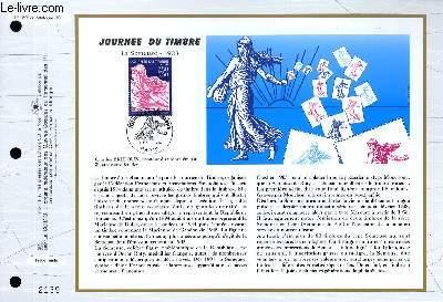 FEUILLET ARTISTIQUE PHILATELIQUE - CEF - N° 1253 - JOURNEE DU TIMBRE - LA SEMEUSE 1903