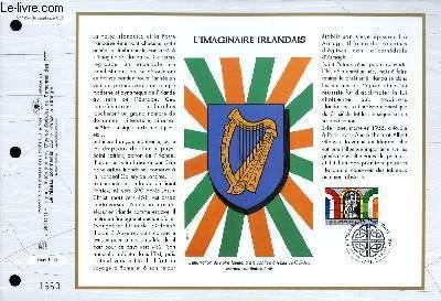 FEUILLET ARTISTIQUE PHILATELIQUE - CEF - N° 1254 - L'IMAGINAIRE IRLANDAIS