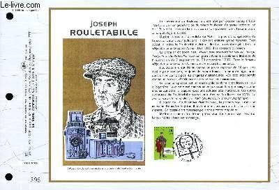 FEUILLET ARTISTIQUE PHILATELIQUE - CEF - N° 1288 - JOSEPH ROULETABILLE