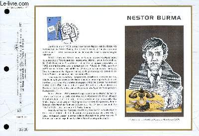 FEUILLET ARTISTIQUE PHILATELIQUE - CEF - N° 1290 - NESTOR BURMA