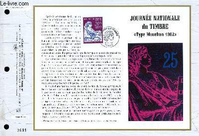 FEUILLET ARTISTIQUE PHILATELIQUE - CEF - N° 1310 - JOURNEE NATIONALE DU TIMBRE