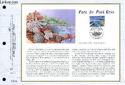 FEUILLET ARTISTIQUE PHILATELIQUE - CEF - N° 1315 - PARC DE PORT-CROS