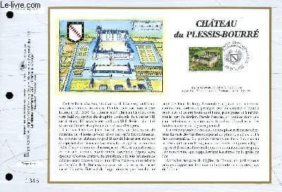 FEUILLET ARTISTIQUE PHILATELIQUE - CEF - N� 1322 - CHATEAU DU PLESSIS-BOURRE