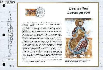 FEUILLET ARTISTIQUE PHILATELIQUE - CEF - N° 1327 - LES SALLES LAVAUGUYON