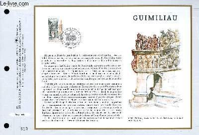 FEUILLET ARTISTIQUE PHILATELIQUE - CEF - N° 1329 - GUIMILIAU