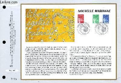 FEUILLET ARTISTIQUE PHILATELIQUE - CEF - N° 1330 - NOUVELLE MARIANNE